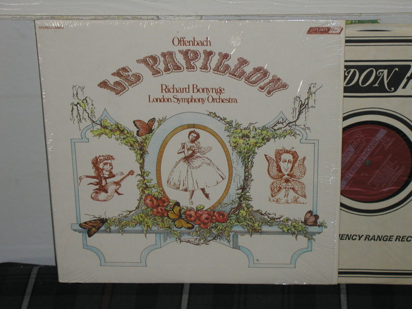 Bonynge/LSO - Offenbach Le Papillo London ffrr UK Decca cs6812