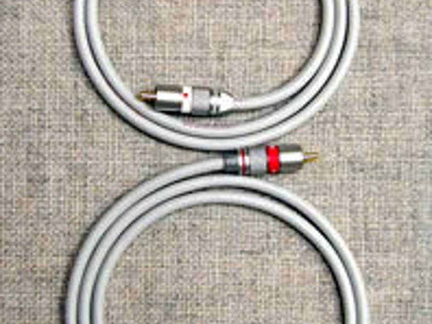 Red Rose Music Silver One Cable 1.5 meters (4.92 feet)