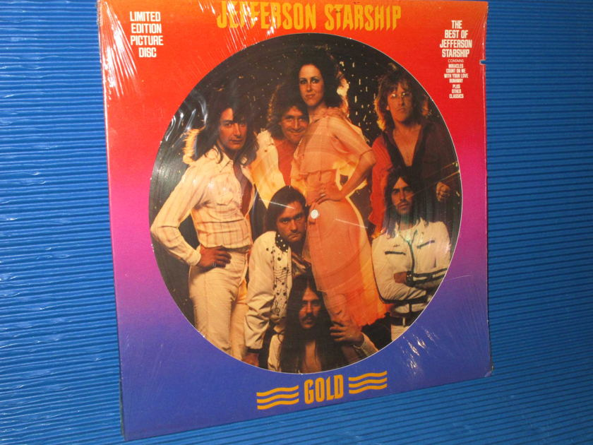 "JEFFERSON STARSHIP   - ""GOLD"" - Grunt 1979  Limited Edition 'Picture Disk' SEALED"