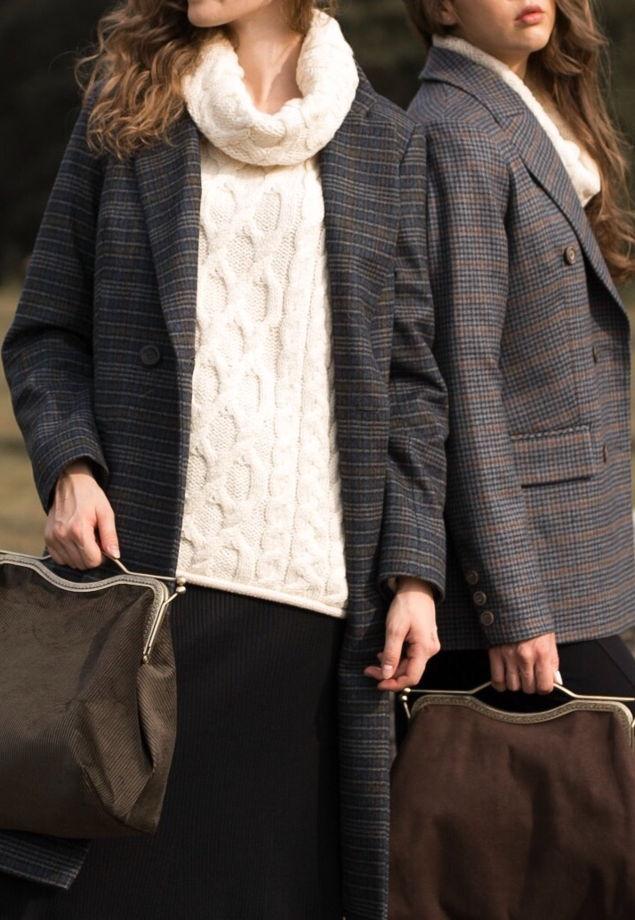 Шерстяное пальто Edinburgh