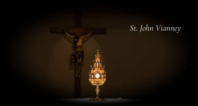 Saint John Vianney and the Eucharist
