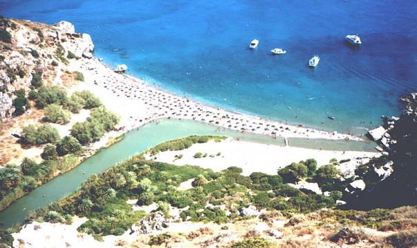 Озеро Курнас – пляж Плакьяс – мон. Превели – ущелье Курталиотико