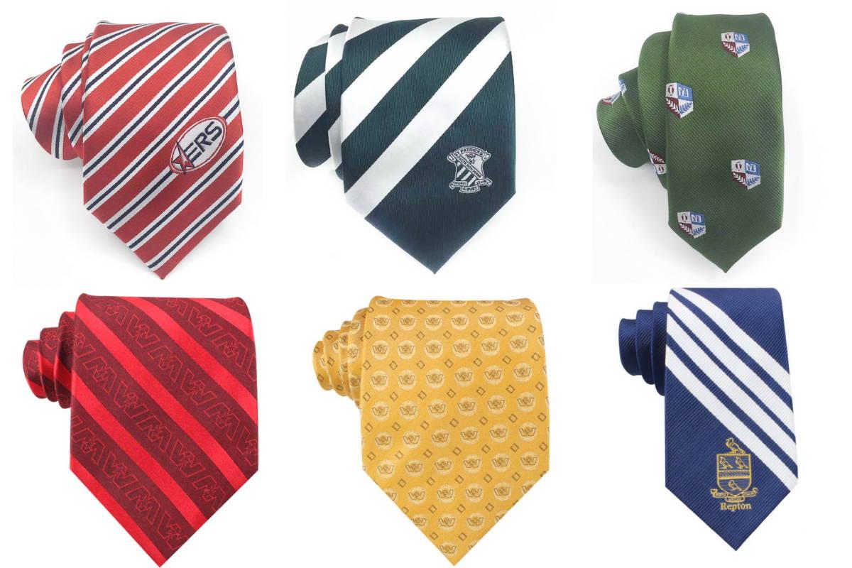 Woven Custom Logo Necktie