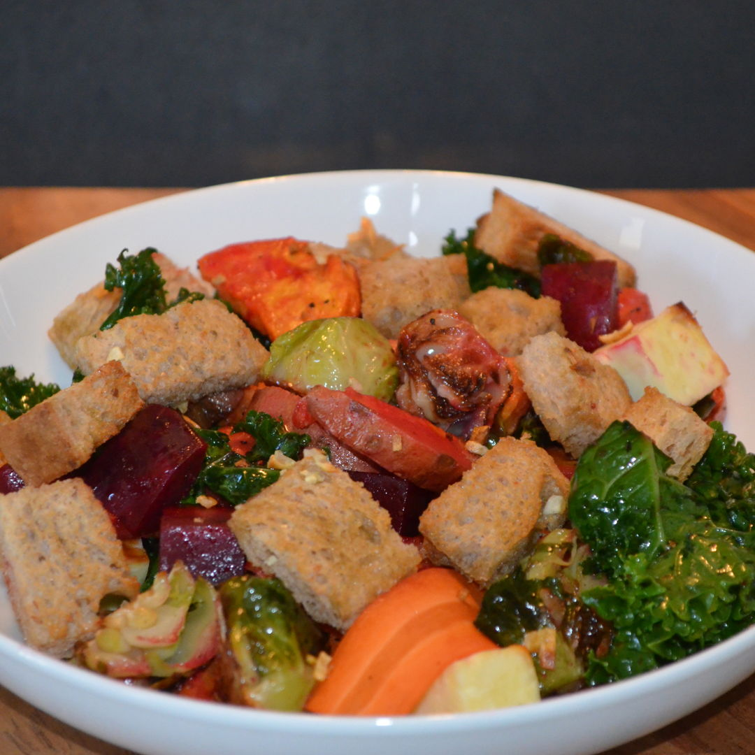 Date: 29 Apr 2020 (Wed) 111th Main: Autumn Panzanella [327] [159.7%] [Score: 9.3] Cuisine: French Dish Type: Main