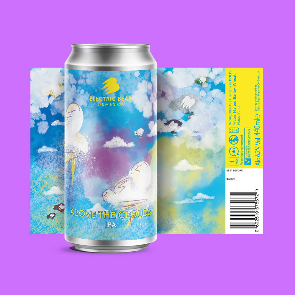 Above The Clouds IPA 440ml can