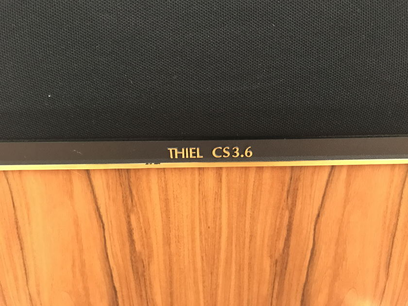 Thiel Audio CS-3.6 Stereophile Speaker of the Year