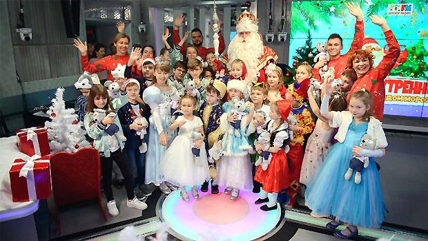 В прямом эфире Детского радио прошел «Радиоутренник с Главным Дедом Морозом» - Новости радио OnAir.ru