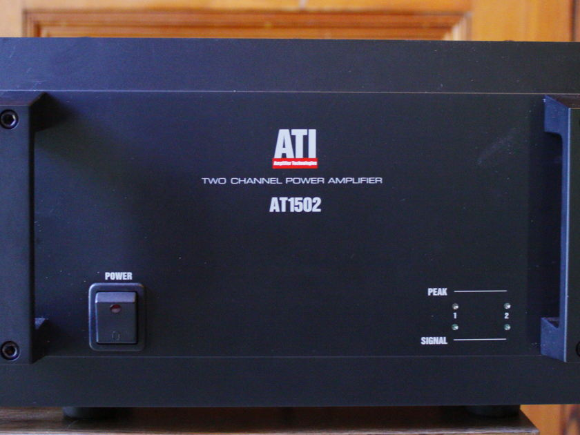 ATI 1502 Powerful, bullet proof stereo amp