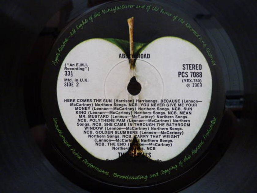 Beatles - Abbey Road 1st press uk mis-aligned apple