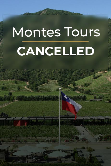 MONTES TOURS CANCELLED