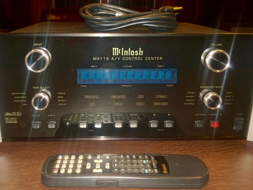 McIntosh MX-119 PRICE DROP !!! Operationally & Superficially Excellent