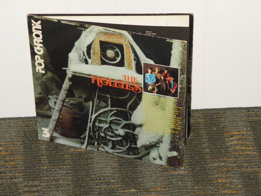 "The Hollies - ""POP CHRONIK"" German import HANSA Stereo 2 LP set Gatefold Cover"