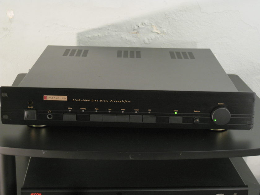 Parasound P/LD 2000 Awesome. w/ balanced and RCA includes remote and manual
