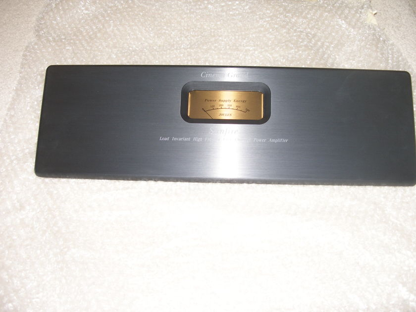 Sunfire  Cinema Grand  5 X 200  Front Panel (NEW)