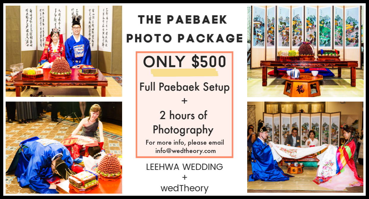 KOREAN TRADITIONAL PAEBAEK TEA CEREMONY PHOTO PACKAGE RENTAL