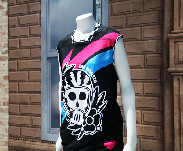 Custom Wholesale Activewear - Dye Sublimation Cut and Sew - Ink Monstr Jersey