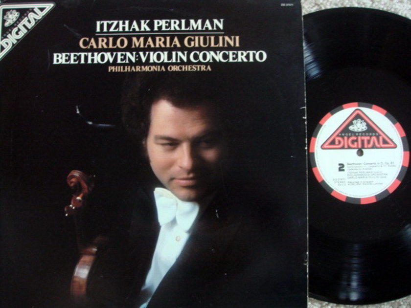 EMI Angel Digital / PERLMAN, - Beethoven Violin Concerto, NM!