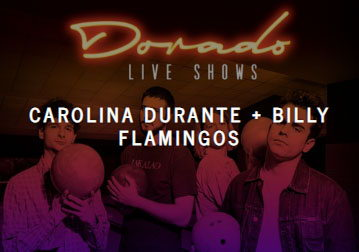 Carolina Durante live, Ibiza concerts tickets spanish pop rock bands