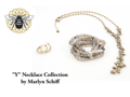 Marlyn Schiff Y Necklace Set