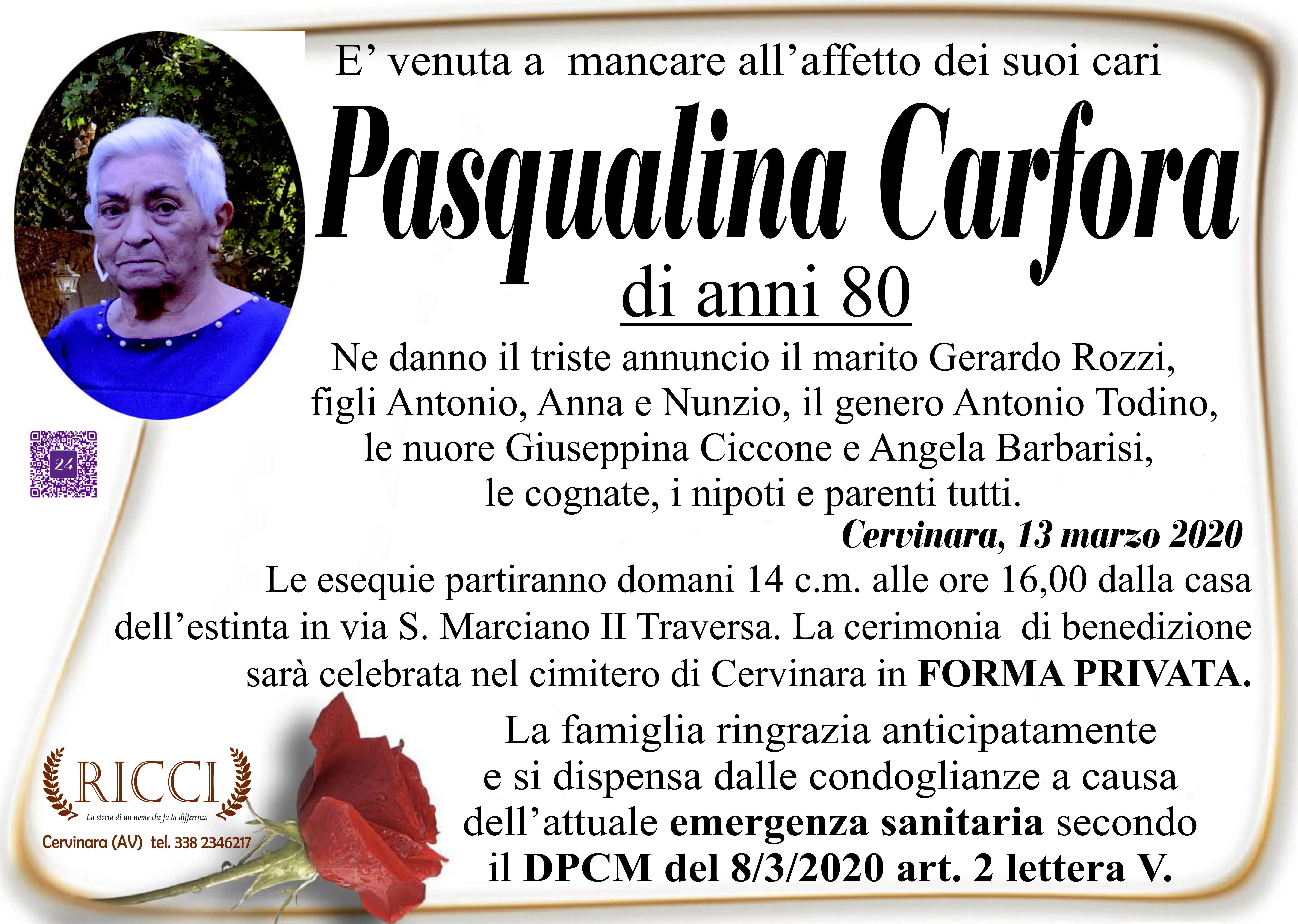 Pasqualina Carfora