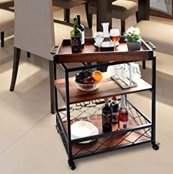 Living Room Bar, Living room cart, mobile dining table