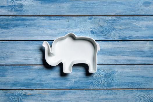 Слоник из керамики