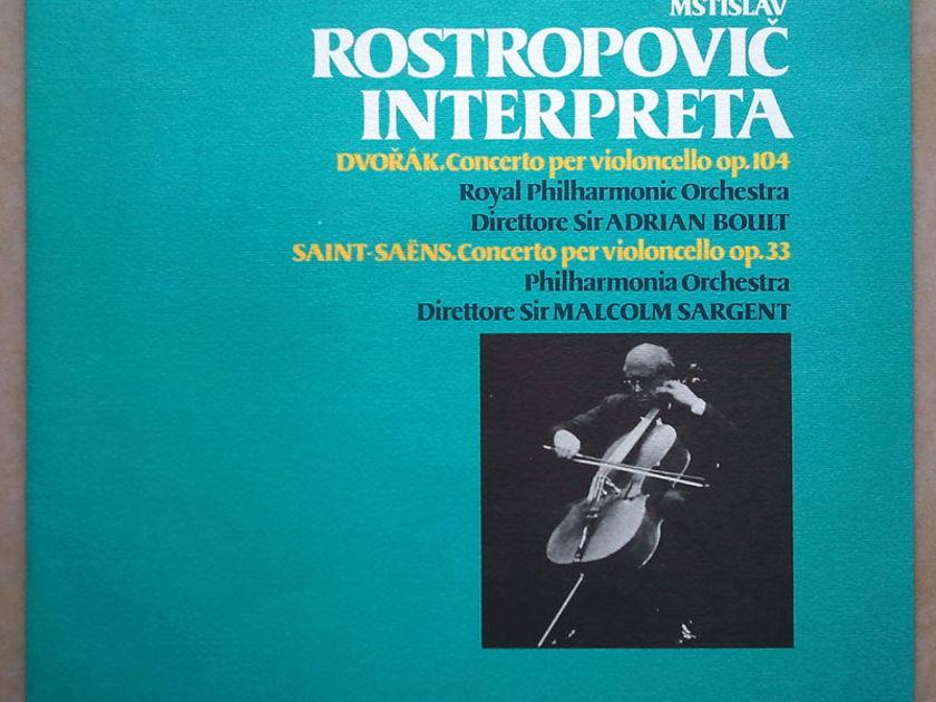 ROSTROPOVICH/SARGENT/DVORAK - & SAINT-SAENS Cello Concertos