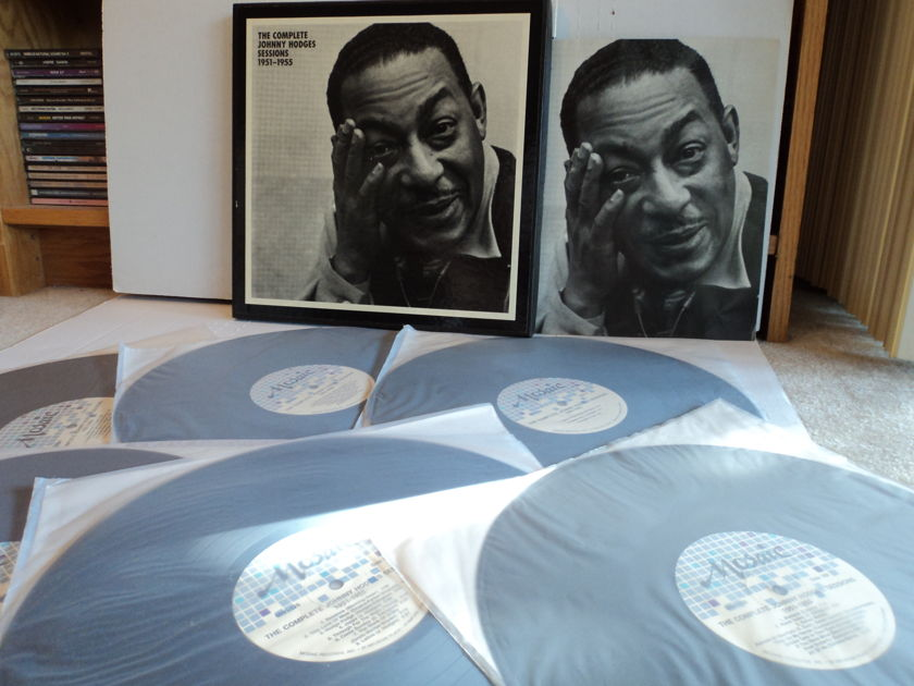 Johnny Hodges  - The Complete Johnny Hodges Sessions 1951-1955 6 NM LPs Rare Mosaic MG6 126