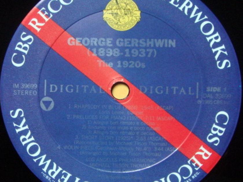 CBS Digital / TILSON THOMAS, - Gershwin Rhapsody in Blue, MINT!