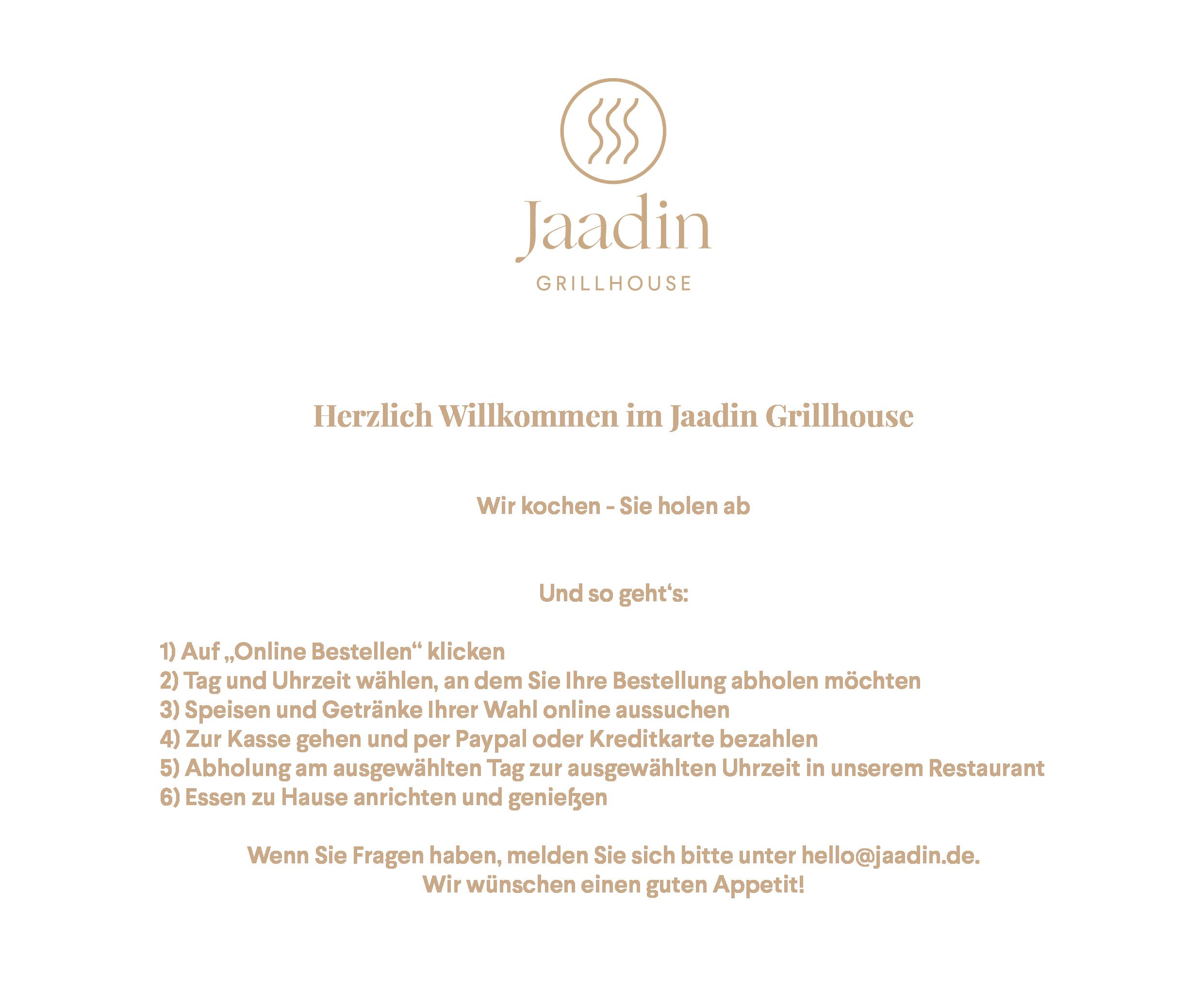 Logo - Jaadin Grillhouse