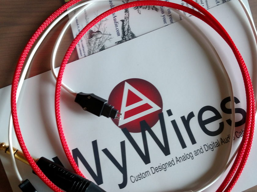 Wywires Red HD650 Sennheiser Headphone Cable