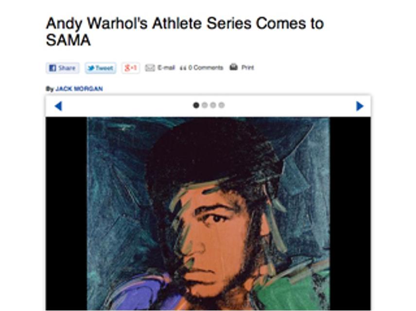 Andy Warhol, SAMA