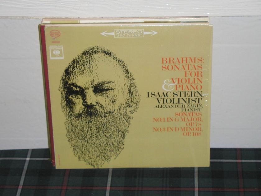 Stern/Zakin - Brahms Sonatas Columbia analog from 70's.