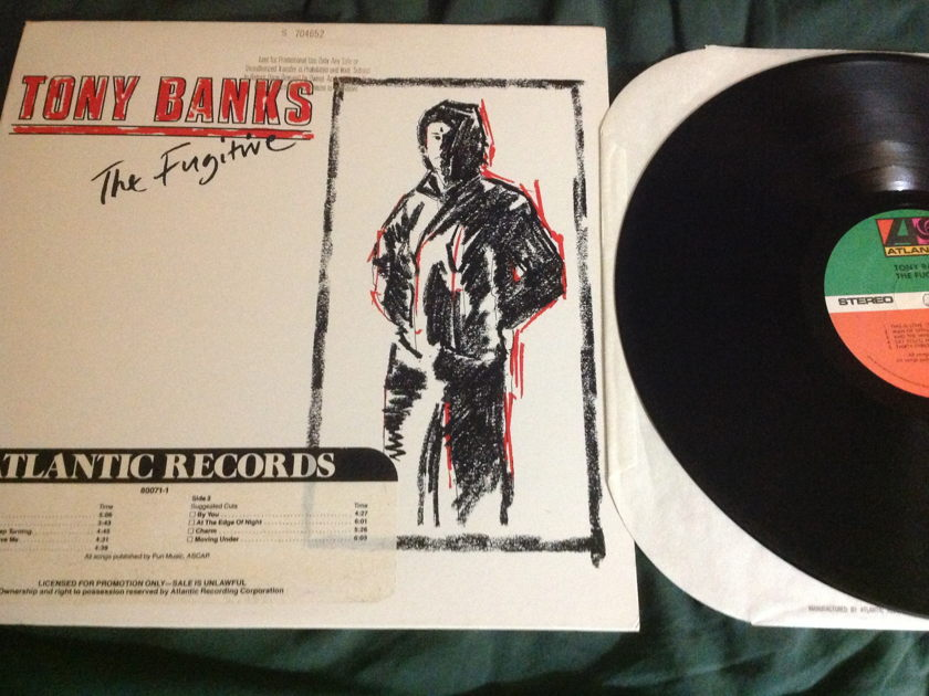 Tony Banks(Genesis) - The Fugitive Promo LP NM