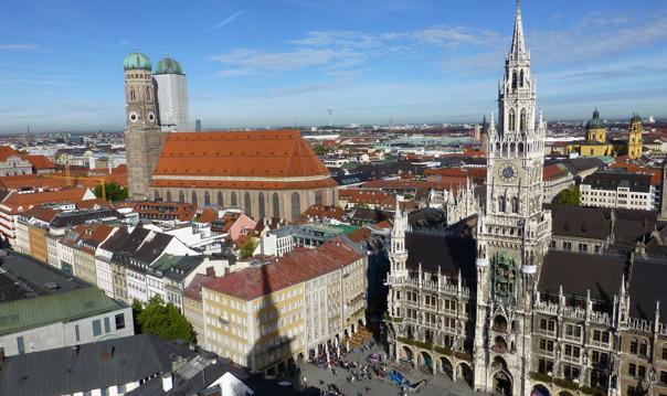 Из Праги в Мюнхен