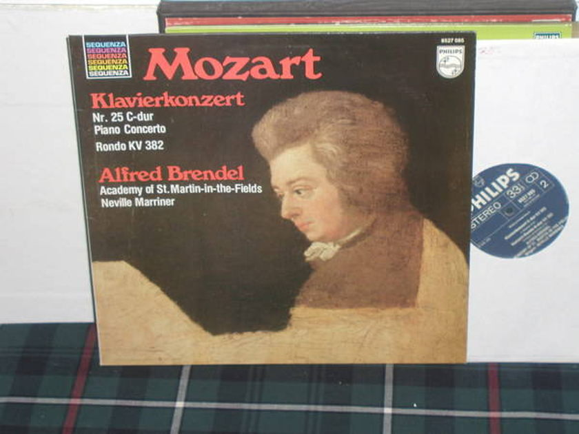 Marriner/AoStMitF/Brendel - Mozart Piano Cto 25 Philips Import Pressing 6527