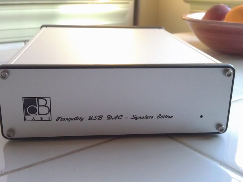 "dB Audio Labs Tranquility Dac ""Signature Edition"" + Essential USB Cable - Absolutely Like New"
