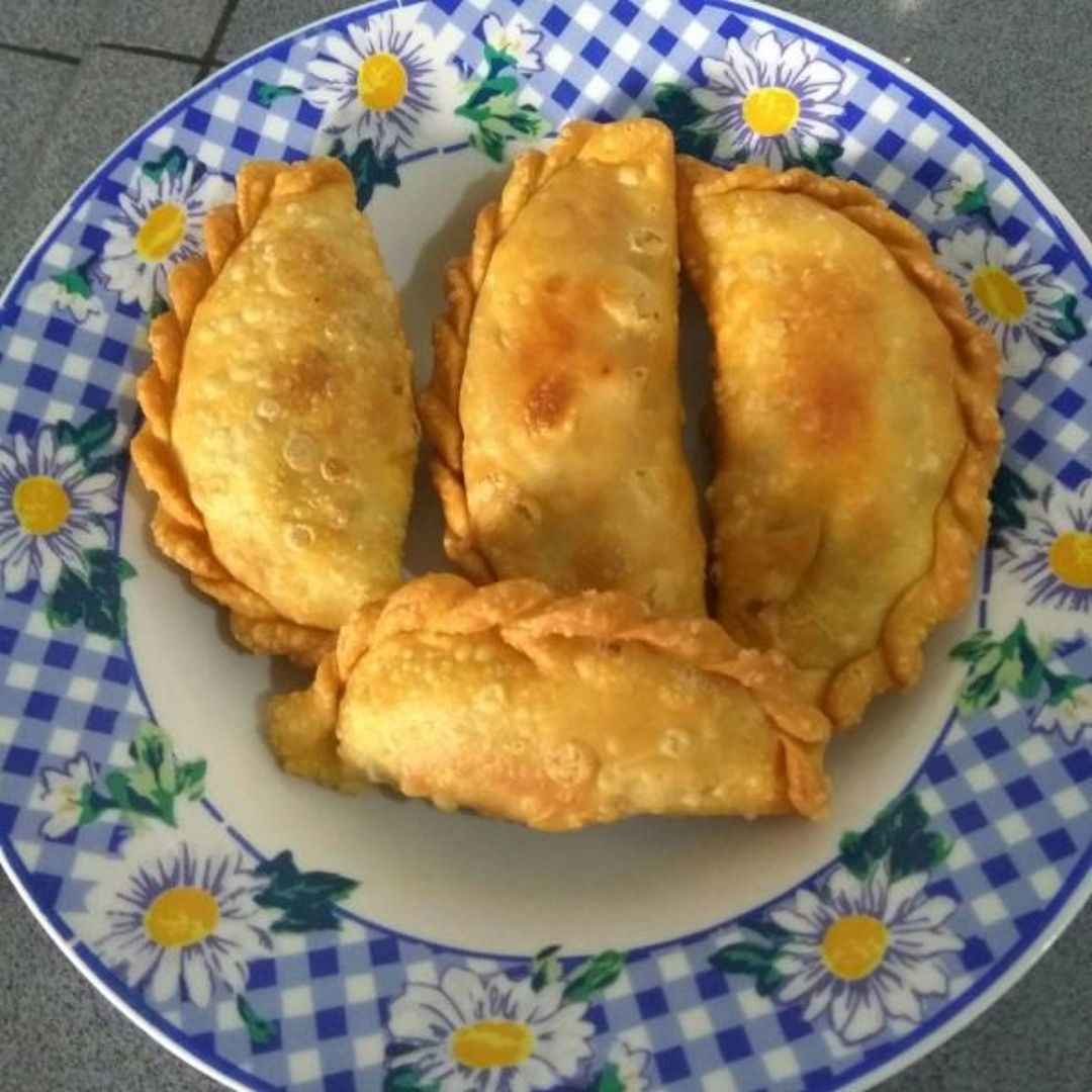 This is Curry Puff I made yesterday