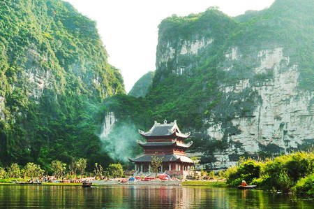 Cycling in Beautiful Ninh Binh