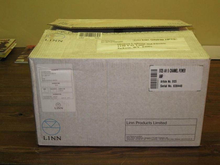 Linn 5125 AV 5 channel power amp NEW IN THE BOX!!