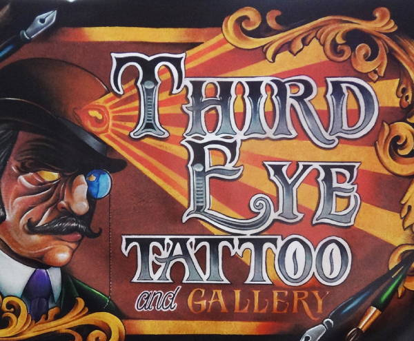 Signs & Banners - Third Eye Tattoo Banner