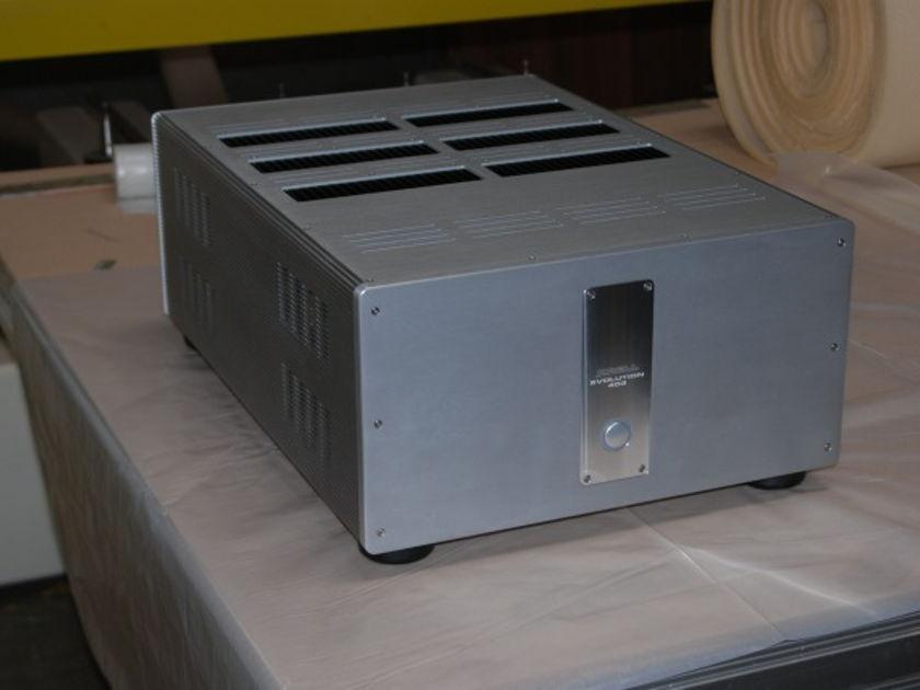Krell 403 3x400watt channel 195lbs,  power supply capacitors just chan