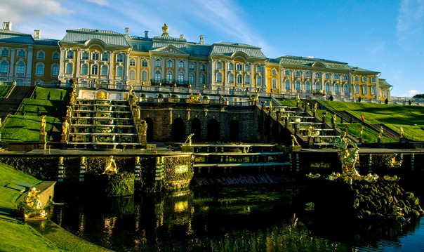 Большой Петергоф (Нижний парк, Большой дворец и Малый музей)