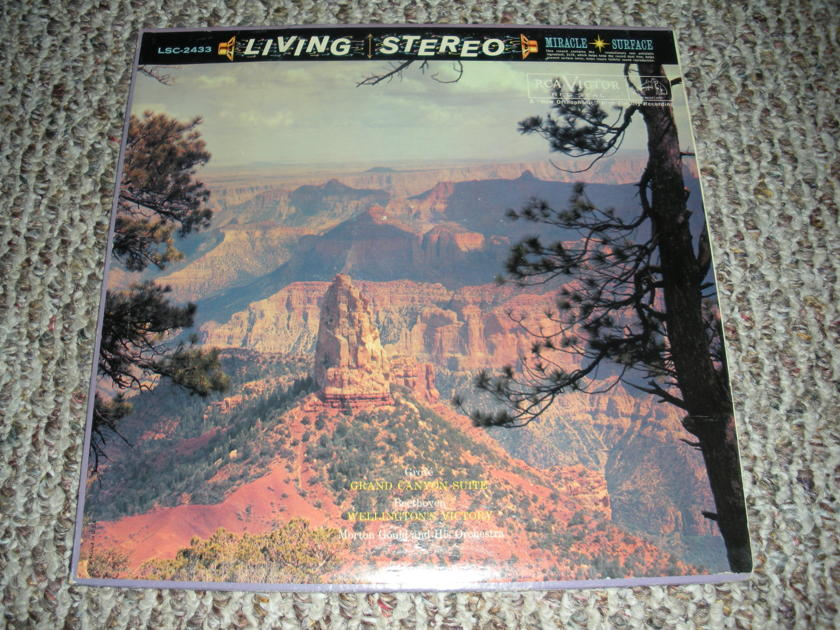 * RARE * LIVING STEREO GRAND CANYON SUITE GROFE - BEETHOVEN WELLINGTONS VICTORY SHADED DOG LSC 2433 ORG