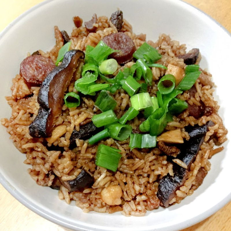 Thanks so much for this recipe...It was absolutely yummy! Here's a pic of my attempt, slightly modified with the inclusion of La Chang (Chinese Sausages) and dried version of Shitake Mushrooms. The most difficult part was getting hold of the taro as (living in Blackpool) I couldn't find yam in shops anywhere (not even Asian ones nearby) and so had to order online.