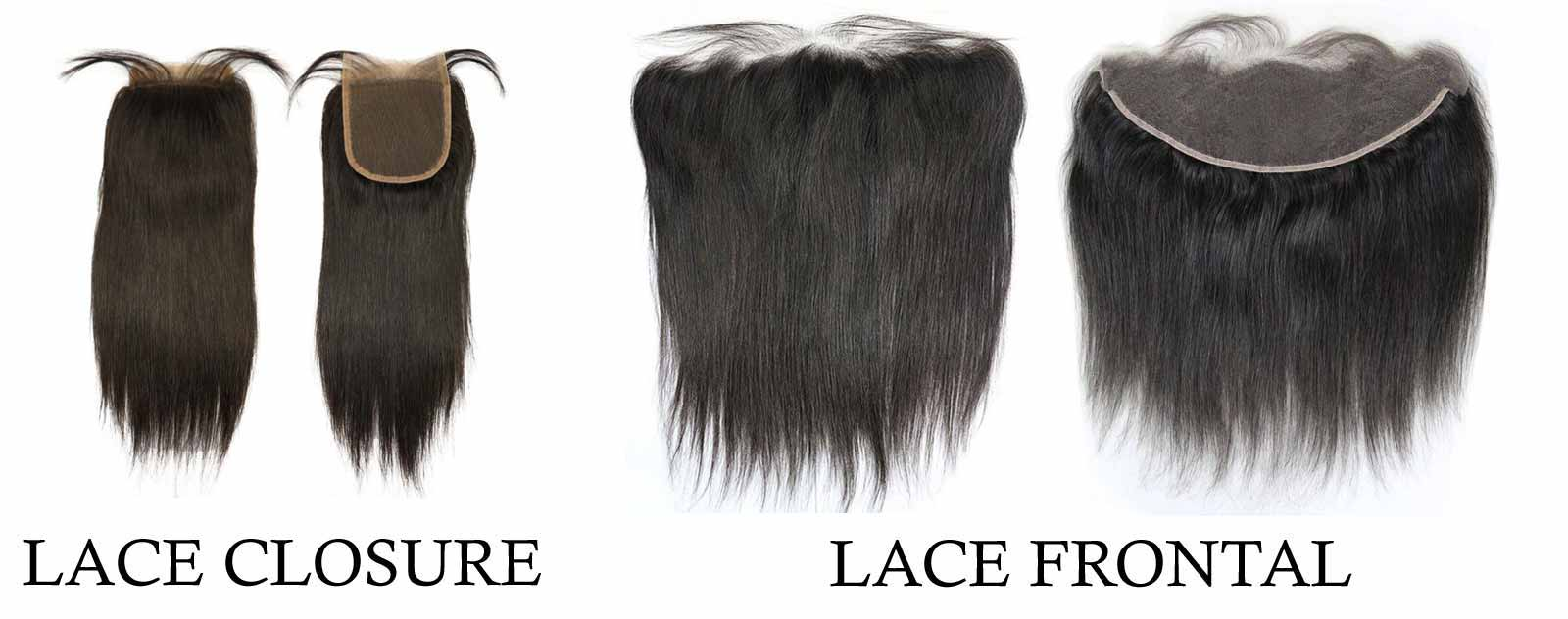Lace Closure vs Lace Frontal