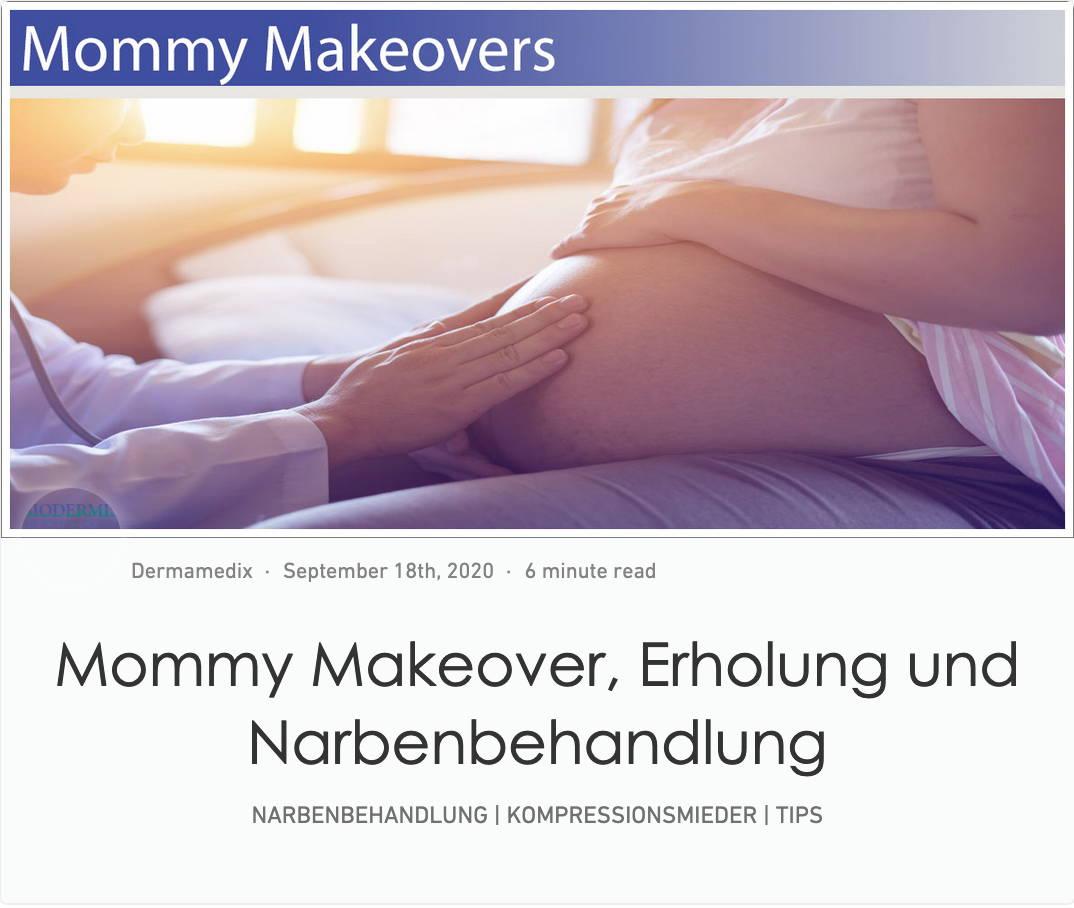 Mommy Makeover und Narbenbehandlung