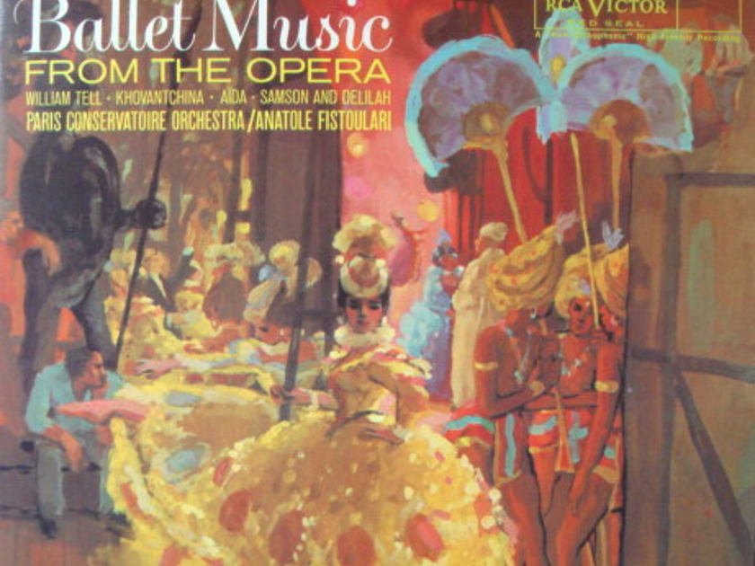 ★Audiophile 180g★ RCA-Classic Records /  - FISTOULARI, Ballet Music from the Opera, TAS LP (OOP), MINT!