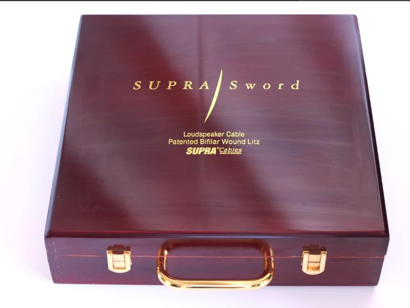 SUPRA   SWORD SPEAKER CABLES- 4 METERS