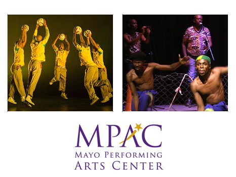 Two (2) Tickets The South African Festival of Dance at Mayo Performing Arts Center Sunday 10/22/17